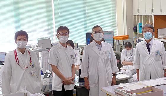松山赤十字病院 脳神経外科 集合写真