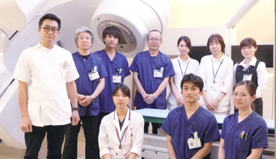 松山赤十字病院 放射線治療科 集合写真