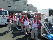 熊本地震災害派遣の様子