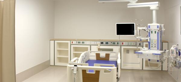 ICU 陰陽圧切り替え個室